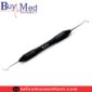 Dental Silicone Handle Excavator Double Ended Black