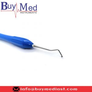 Dental Silicone Handle Excavator Double Ended Blue