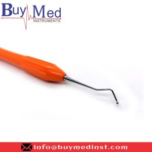Dental Silicone Handle Excavator Double Ended Orange